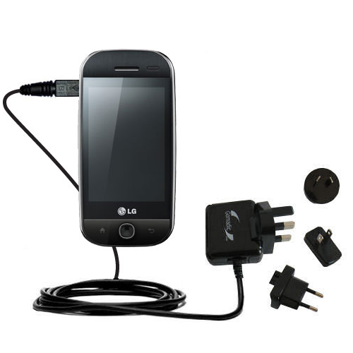 International Wall Charger compatible with the LG GW620