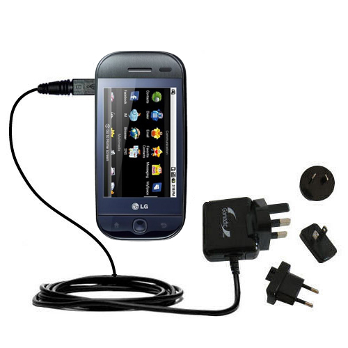 International Wall Charger compatible with the LG InTouch Max