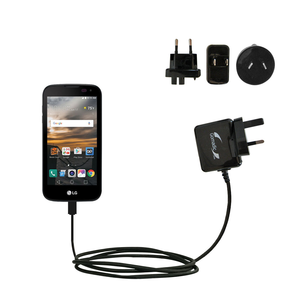 International Wall Charger compatible with the LG K3