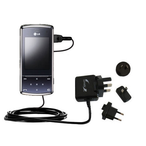 International Wall Charger compatible with the LG KF510 / KF-510