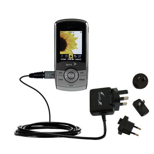 International Wall Charger compatible with the LG LX370