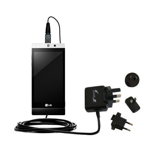 International Wall Charger compatible with the LG Mini