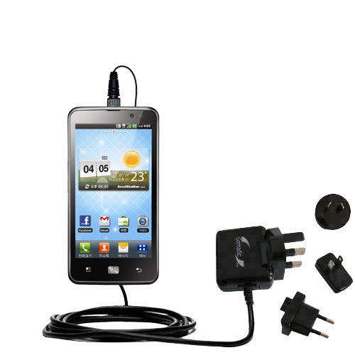 International Wall Charger compatible with the LG Revolution 2