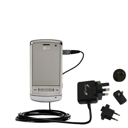 International Wall Charger compatible with the LG Shine