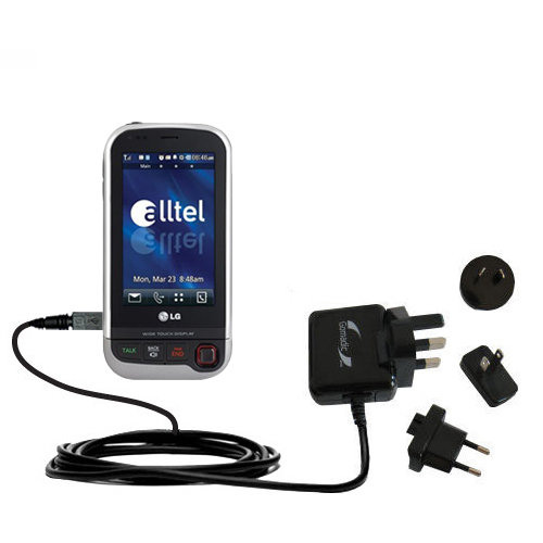 International Wall Charger compatible with the LG Tritan