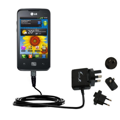 International Wall Charger compatible with the LG Univa