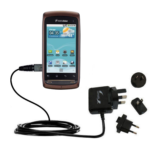 International Wall Charger compatible with the LG US740