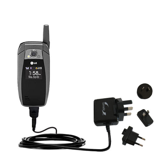 International Wall Charger compatible with the LG UX355