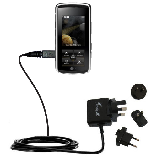 International Wall Charger compatible with the LG Venus