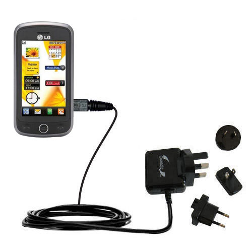 International Wall Charger compatible with the LG VN530