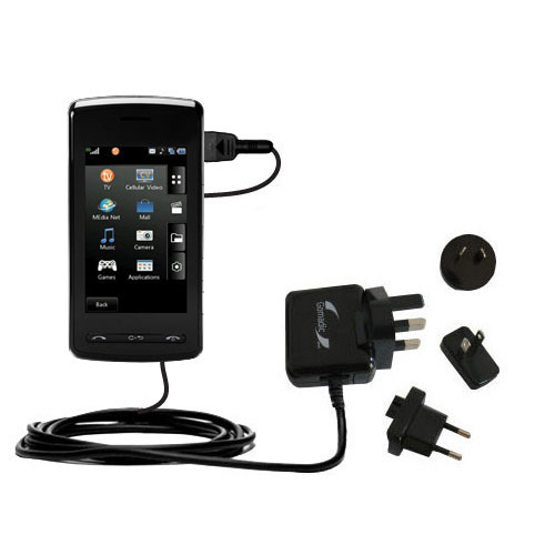 International Wall Charger compatible with the LG Vu