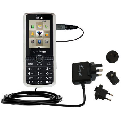 International Wall Charger compatible with the LG VX7100