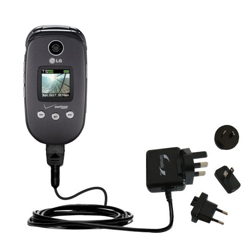 International Wall Charger compatible with the LG VX8350