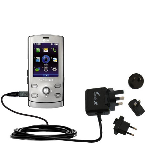 International Wall Charger compatible with the LG VX8610