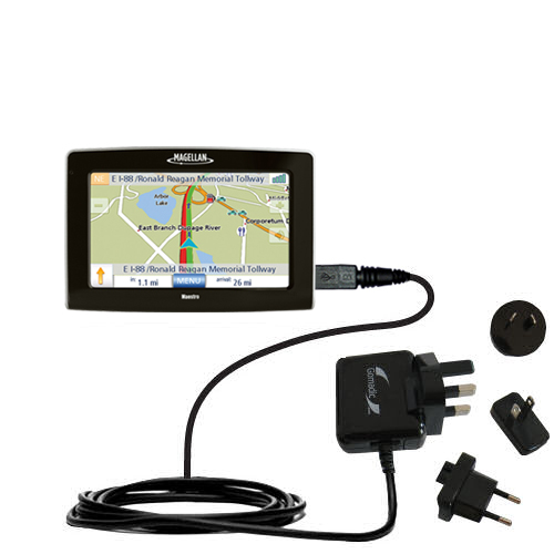 International Wall Charger compatible with the Magellan Maestro 4250