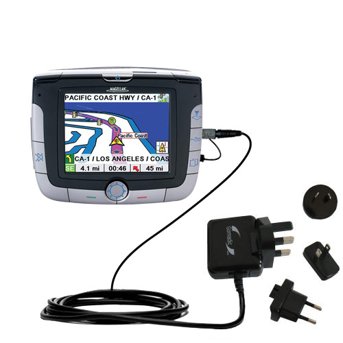 International Wall Charger compatible with the Magellan Roadmate 3000T