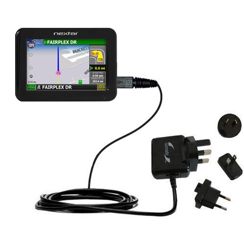 International Wall Charger compatible with the Nextar K4