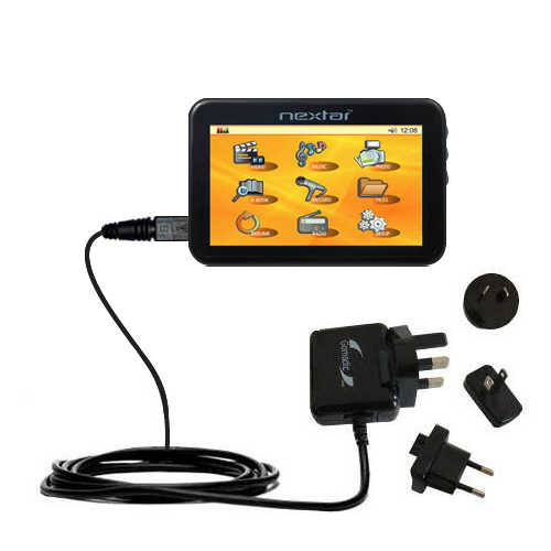 International Wall Charger compatible with the Nextar K40