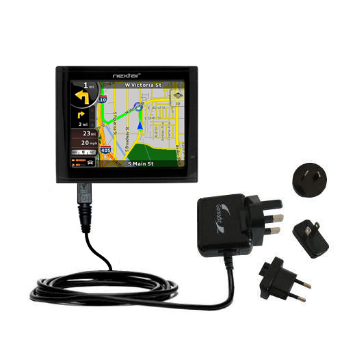 International Wall Charger compatible with the Nextar ME