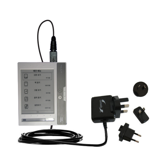 International Wall Charger compatible with the NUUTbook NUUT2
