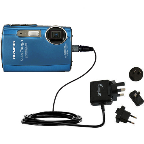 1A USB AC//DC Battery Charger Adapter Cord For Olympus u Stylus Tough 3000 Camera