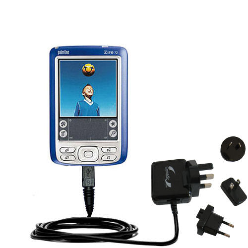International Wall Charger compatible with the Palm palm Zire 72s