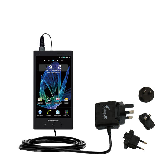 International Wall Charger compatible with the Panasonic Eluga / dL1