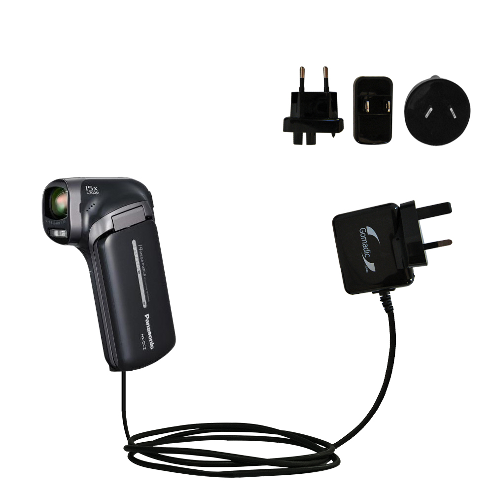 International Wall Charger compatible with the Panasonic HX-DC3