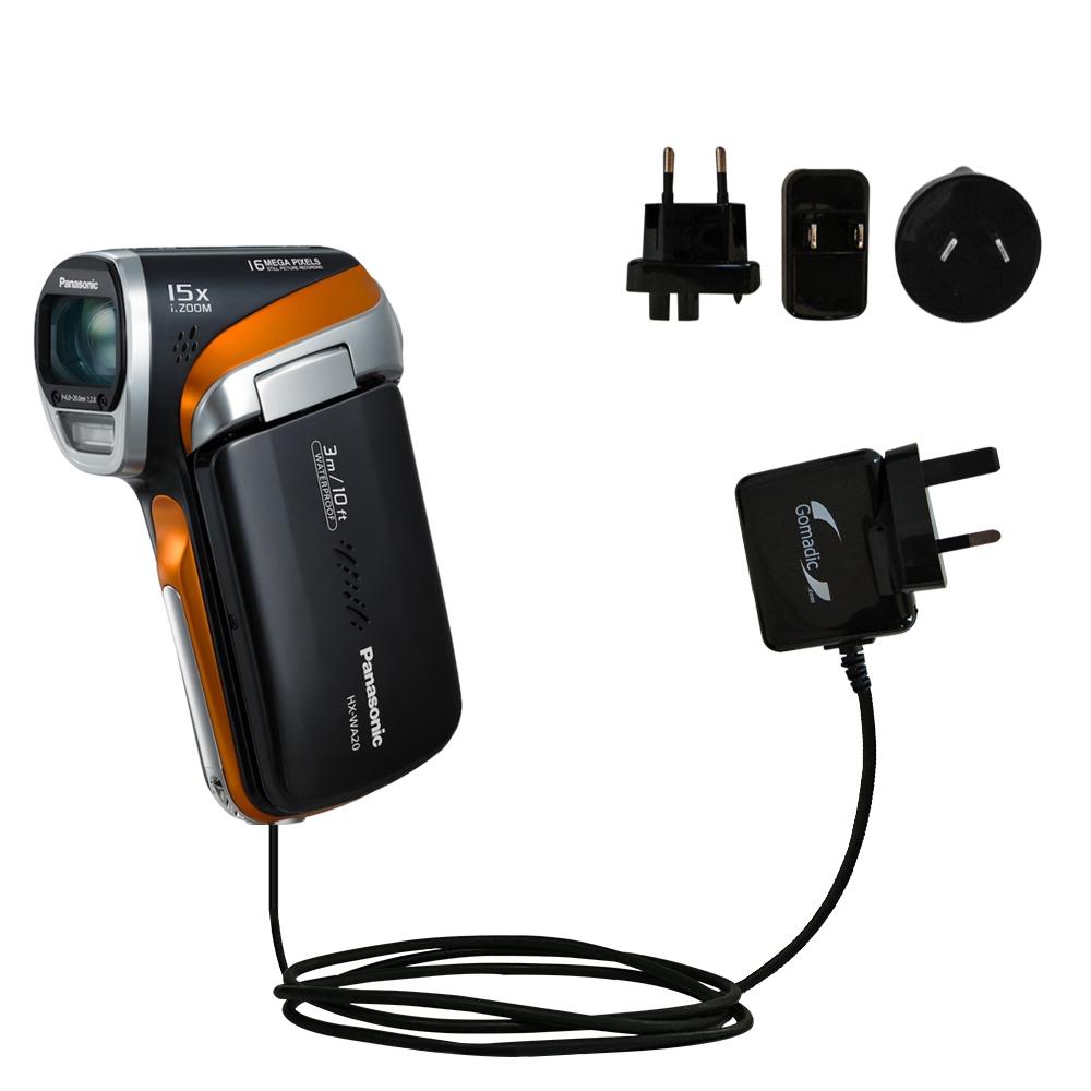 International Wall Charger compatible with the Panasonic HX-WA20