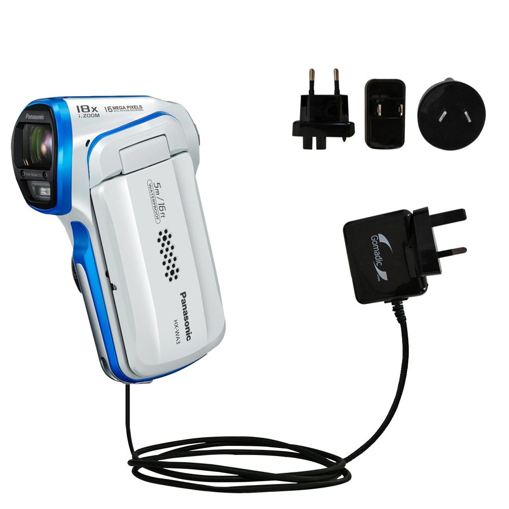 International Wall Charger compatible with the Panasonic HX-WA3