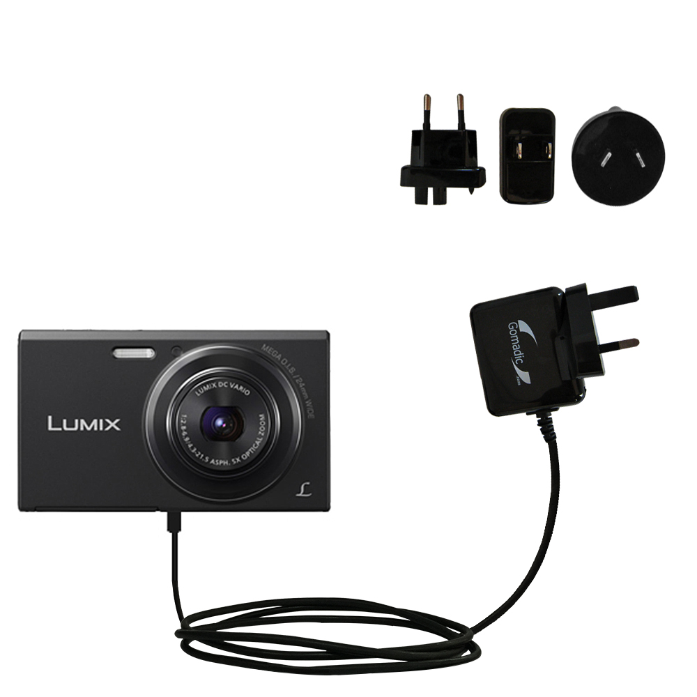 International Wall Charger compatible with the Panasonic Lumix DMC-FH10V