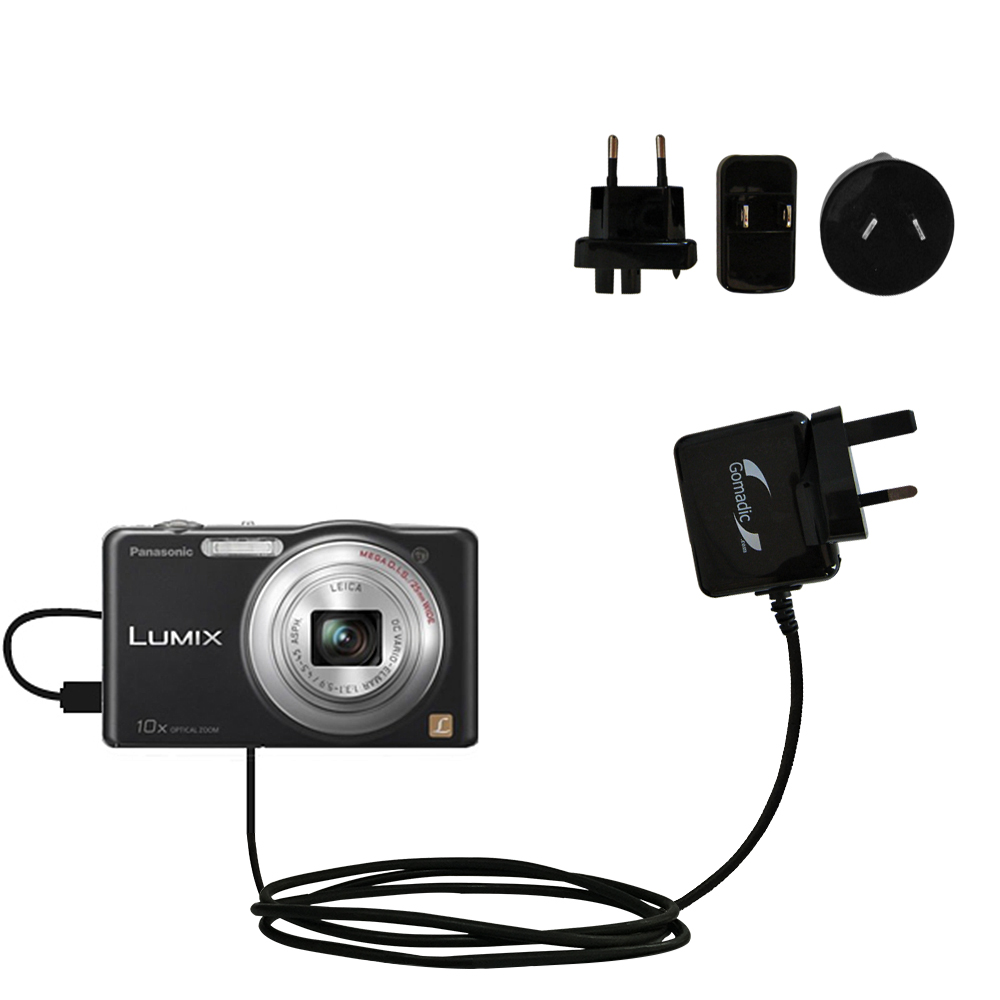 International Wall Charger compatible with the Panasonic Lumix DMC-SZ1K