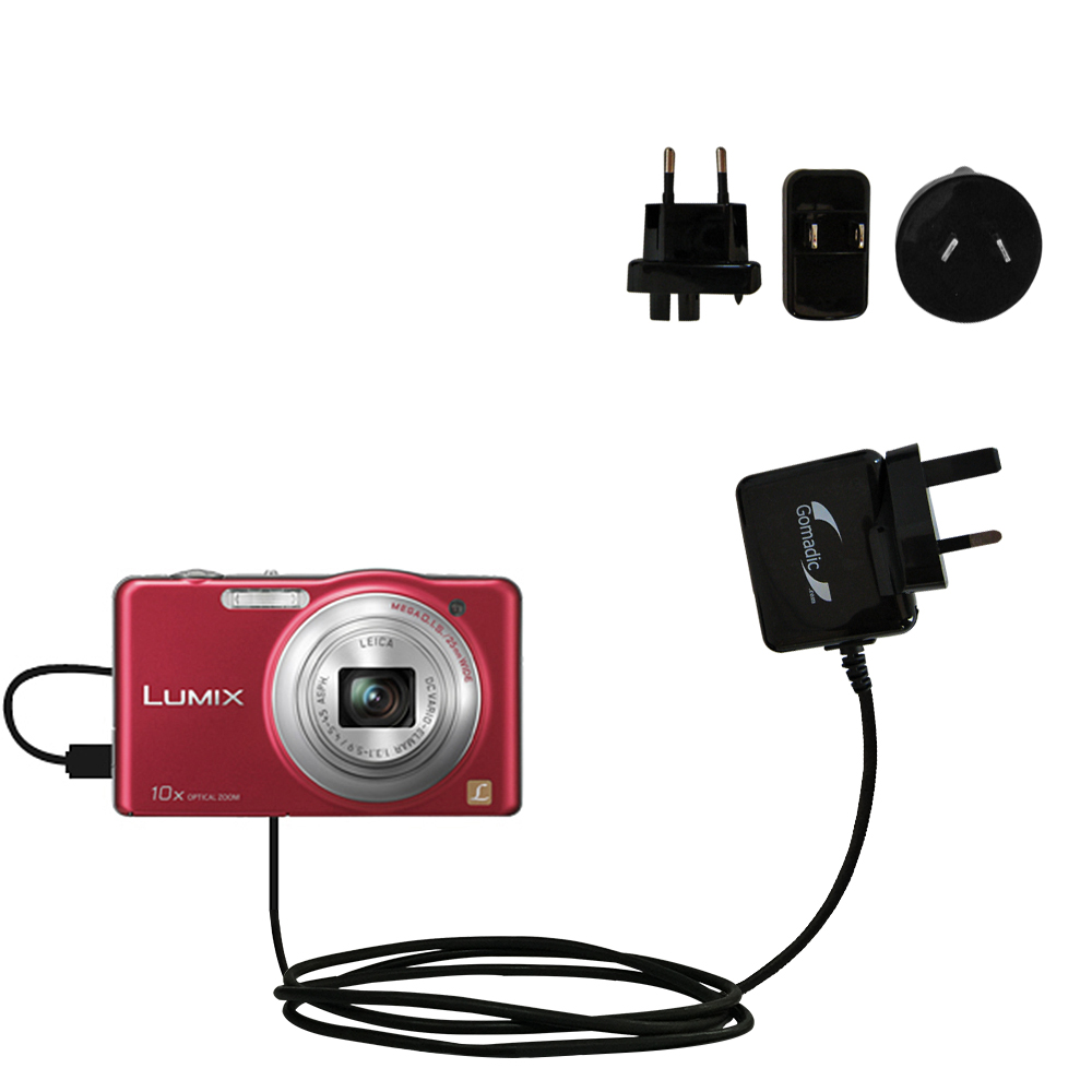 International Wall Charger compatible with the Panasonic Lumix DMC-SZ1R