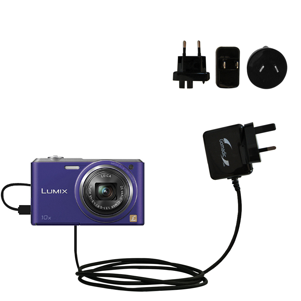 International Wall Charger compatible with the Panasonic Lumix DMC-SZ3V