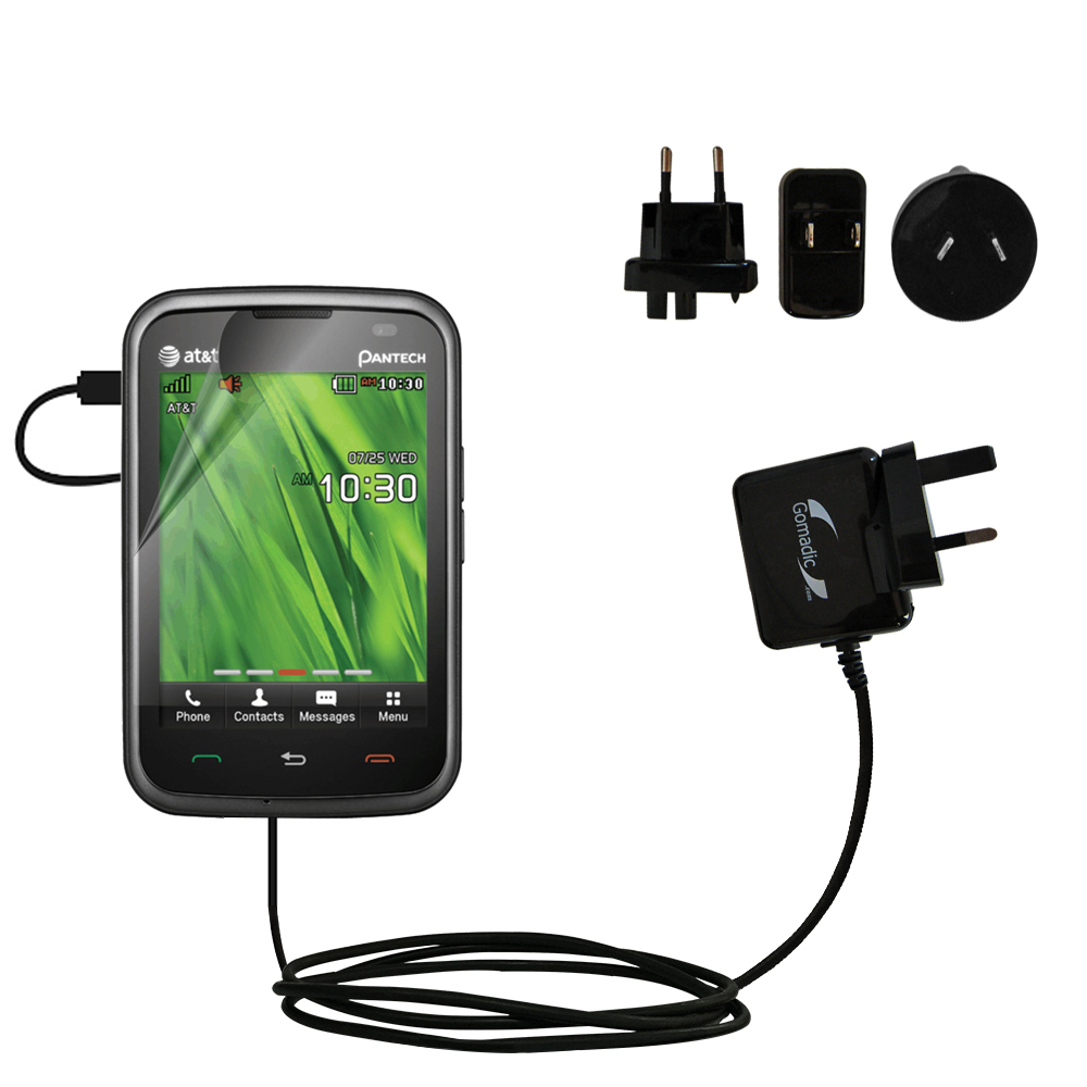International Wall Charger compatible with the Pantech Renue