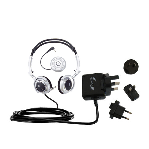 International Wall Charger compatible with the Plantronics Pulsar 590E