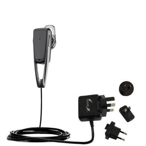 International Wall Charger compatible with the Plantronics Savor M1100