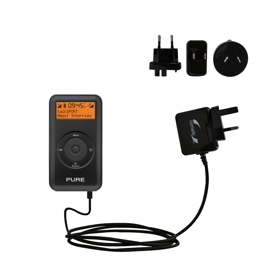 International Wall Charger compatible with the PURE Move 2500