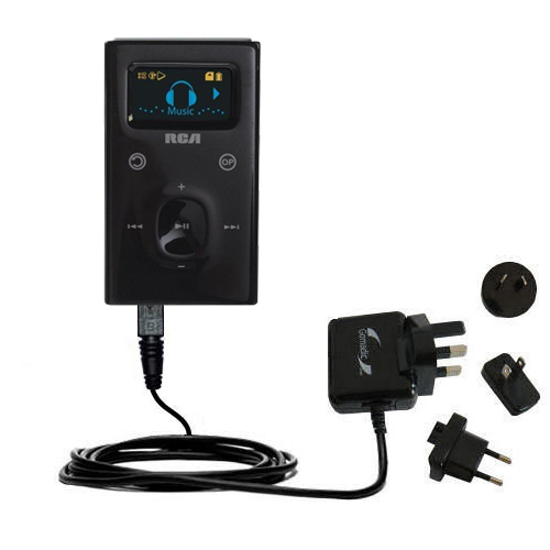 International Wall Charger compatible with the RCA M2104 M2204 Lyra