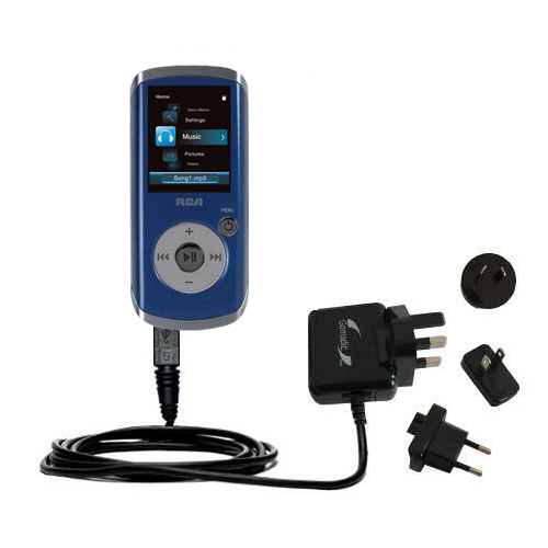 International Wall Charger compatible with the RCA M4204 OPAL Digital Media Player