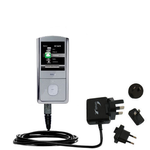 International Wall Charger compatible with the RCA M4304 Digital Music Player