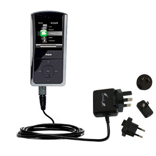 International Wall Charger compatible with the RCA M4308 Opal Digital Media Player