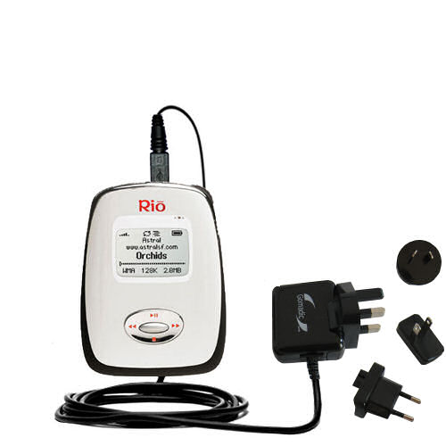 International Wall Charger compatible with the Rio Carbon