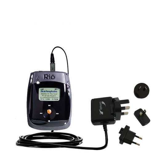 International Wall Charger compatible with the Rio Nitrus