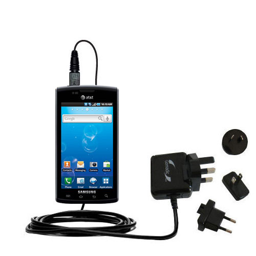 International Wall Charger compatible with the Samsung Captivate