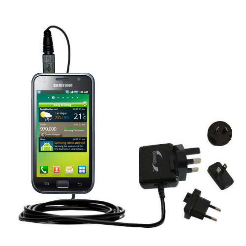 International Wall Charger compatible with the Samsung Galaxy S