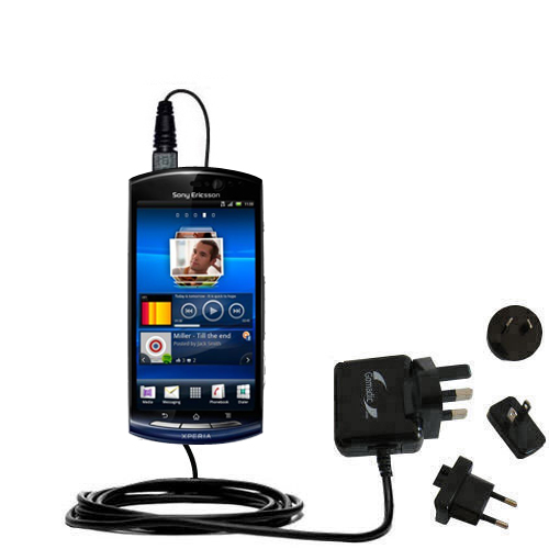 international ac home wall charger suitable for the sony ericsson rh gomadic com Sony Ericsson Xperia Play Sony Xperia Latest Model