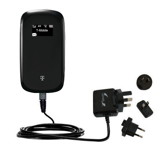 International Wall Charger compatible with the T-Mobile 4G Mobile Hotspot