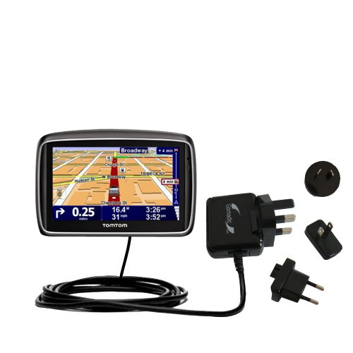International Wall Charger compatible with the TomTom 740