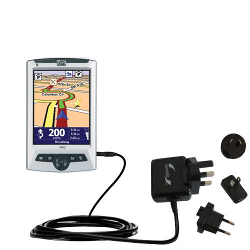 International Wall Charger compatible with the TomTom Navigator 5